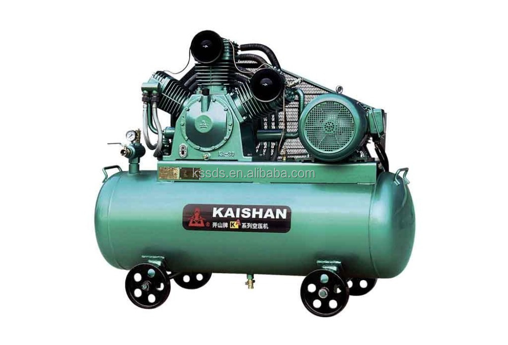 kaishan portable piston compressor 8 bar 10 cfm air compressor ka 3 32CFM 1015PSI 20HP 0.9m3 70bar 15kw