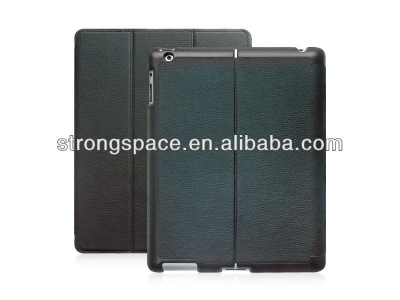 slim smart cover for ipad mini, leather case for new ipad mini