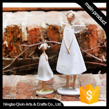 Handmade White Resin Wholesale Fairy Figurine