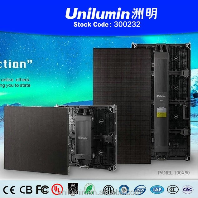 Outdoor event led Screen P6 customized size rental led display for wedding