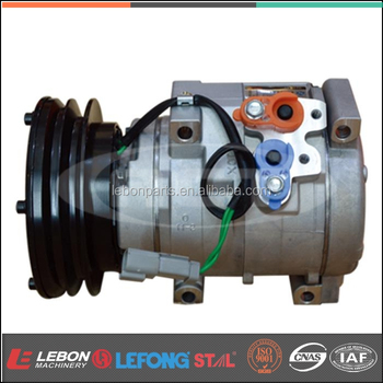 Excavator Air conditioning parts 10S17C ac compressor E320C AO 24V