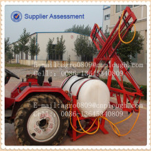 tractor mounted boom sprayers made by polyethylene plastic tanks with brass nozzle