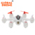 Cheap Global Drone WLtoys Q272 Mini Pocket Aircraft RC Dron 2.4G 4CH 6-Axis Gyro RTF Drone with LED Light Gift toys for Kids