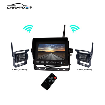 Factory Direct Sales truck parts wireless camera system view rear-view with waterproof anti-fog color ccd