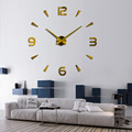 EVA Creative DIY Adhesive Figure Wall Clock For Home Decoration