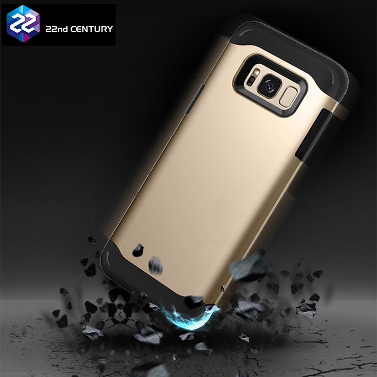 2 in 1 Heavy Duty Shockproof s8 case for samsung galaxy armor hybrid phone case s8 plus