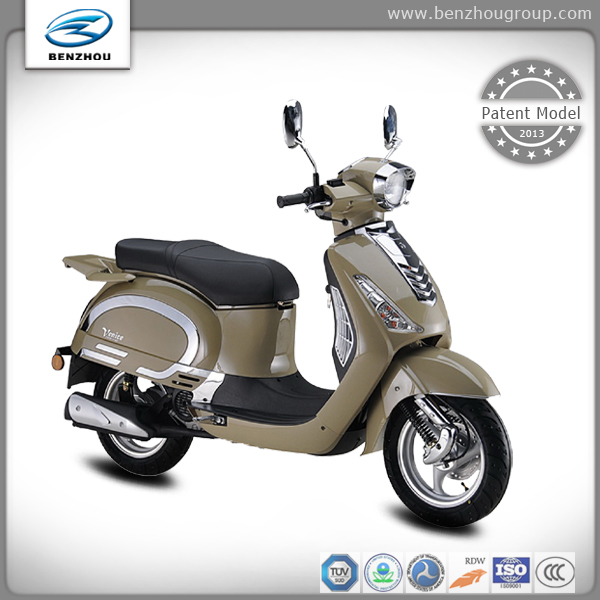 China made EEC approved cheap price gas scooter best sell