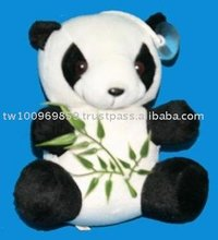Recordable plush panda, plush recorder animals, Recording plush toys, Electrical plush toys, Valentine's day gift, lajw-pra005