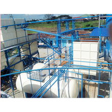 Mini Convenient Installation 6T/D Crude Oil Refinery Plant For Sale