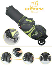 China HELIX online shopping golf bag ,china golf bag suppliers,china wholesale golf bag with wheels