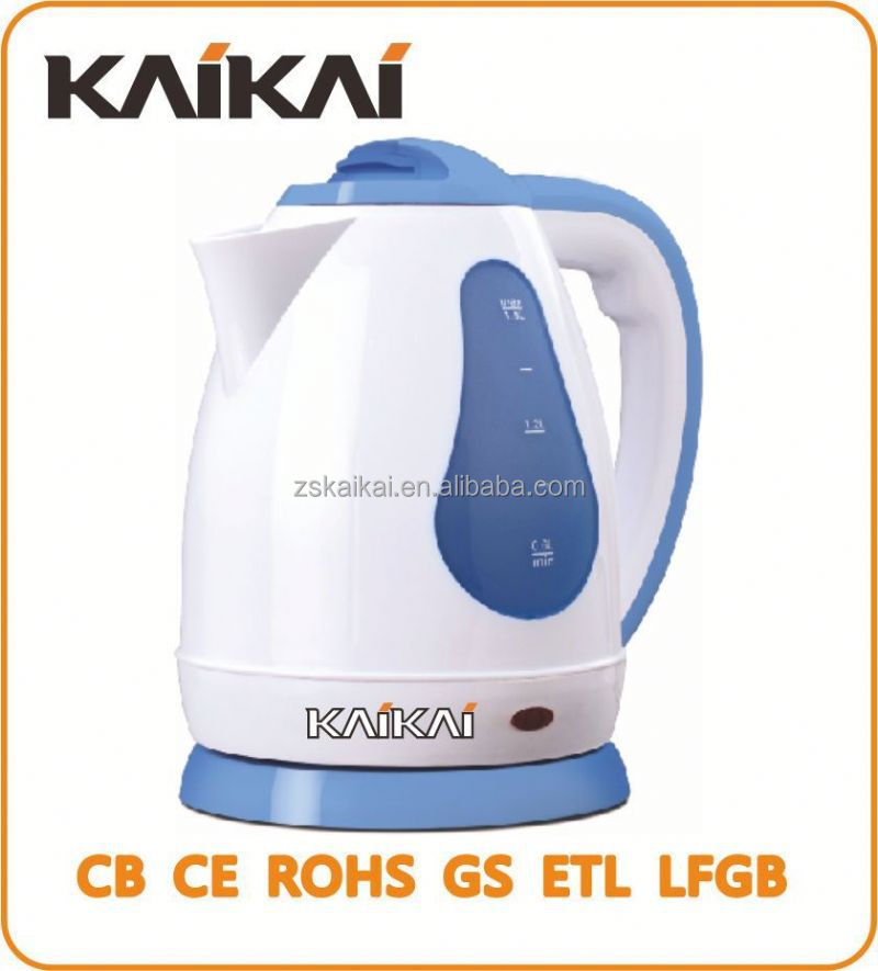2015 New Model 1.8L painted colour changing electric kettle