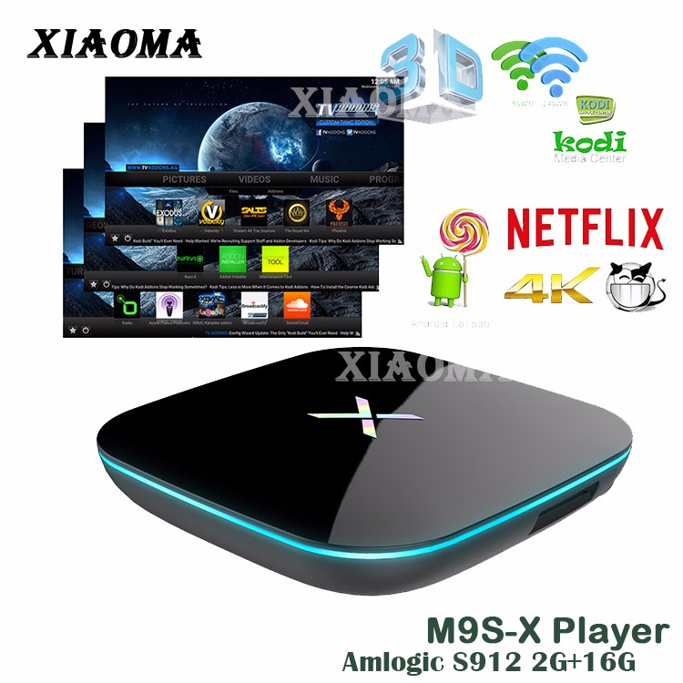 install google play store android tv box X-PALEY 2G+16G Amlogic S912 Octa-core android tv box hdd karaoke player
