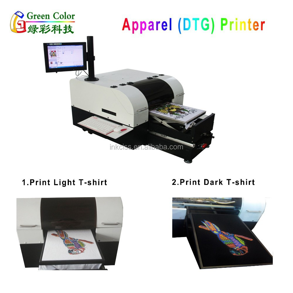 Direct To Garment Dtg Printer Epson For Light T Shirt And