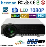 lcd digital projector projector cre x1000 full hd 1080p 3d led projector