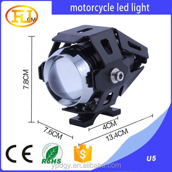 12v 10w U5 motorcycle led headlight high quality with cheap price
