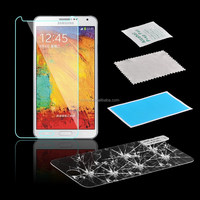 Clear Screen Protector Waterproof Tempered Glass For Samsung Galaxy Note2/3