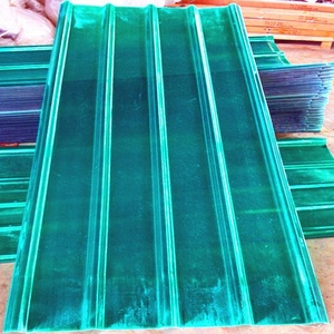 FRP material corrugated plastic roofing sheets for greenhouse