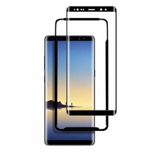 free samples!for samsung galaxy note 8 3d tempered glass , 3d curved full cover screen protector for samsung note 8