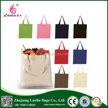 SGS Audit Factory Promotional Canvas Grocery Bag With Custom Print