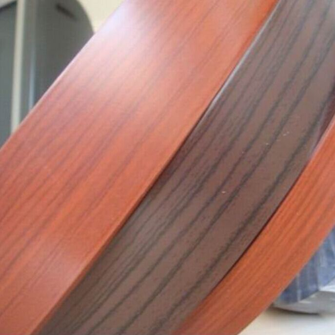 Oxford Cherry PVC or ABS Furniture Edge Banding Cover for Furniture Accessory
