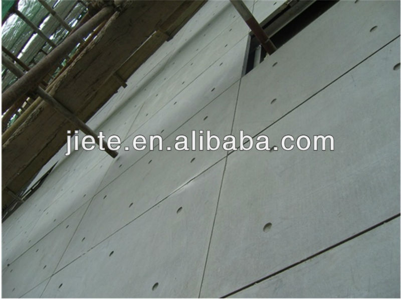 Low cost compound and polystyrene mixed cement wall panel