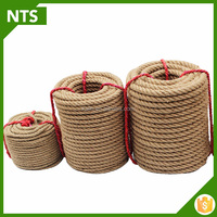 NTS Hemp Rope Twist Braided Jute Rope With Top Quality