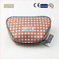 Popular best selling washing bag PU washing bag leather cosmetic purse