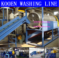 plastic washing recycling granulator