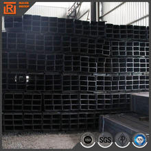 Hot rolled rectangular thin wall steel tubing, square steel pipe for construction material
