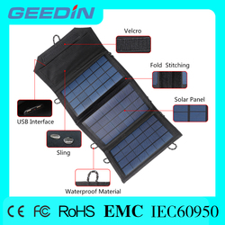 folding battery charger cloth solar power motorcycle for traveling