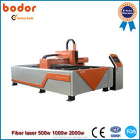 Hot Sale! Fiber Laser Cutting Mchine form Jinan Bodor BCL-FB High efficiency removable working table -500W Fiber metal cutter