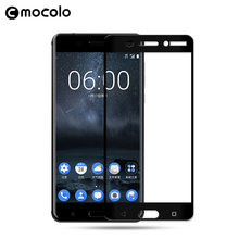 For Nokia 6 tempered glass screen protector full cover 9h