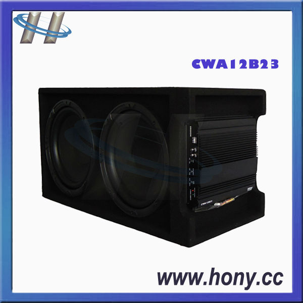 Active Dual 12 Inch Car Subwoofer