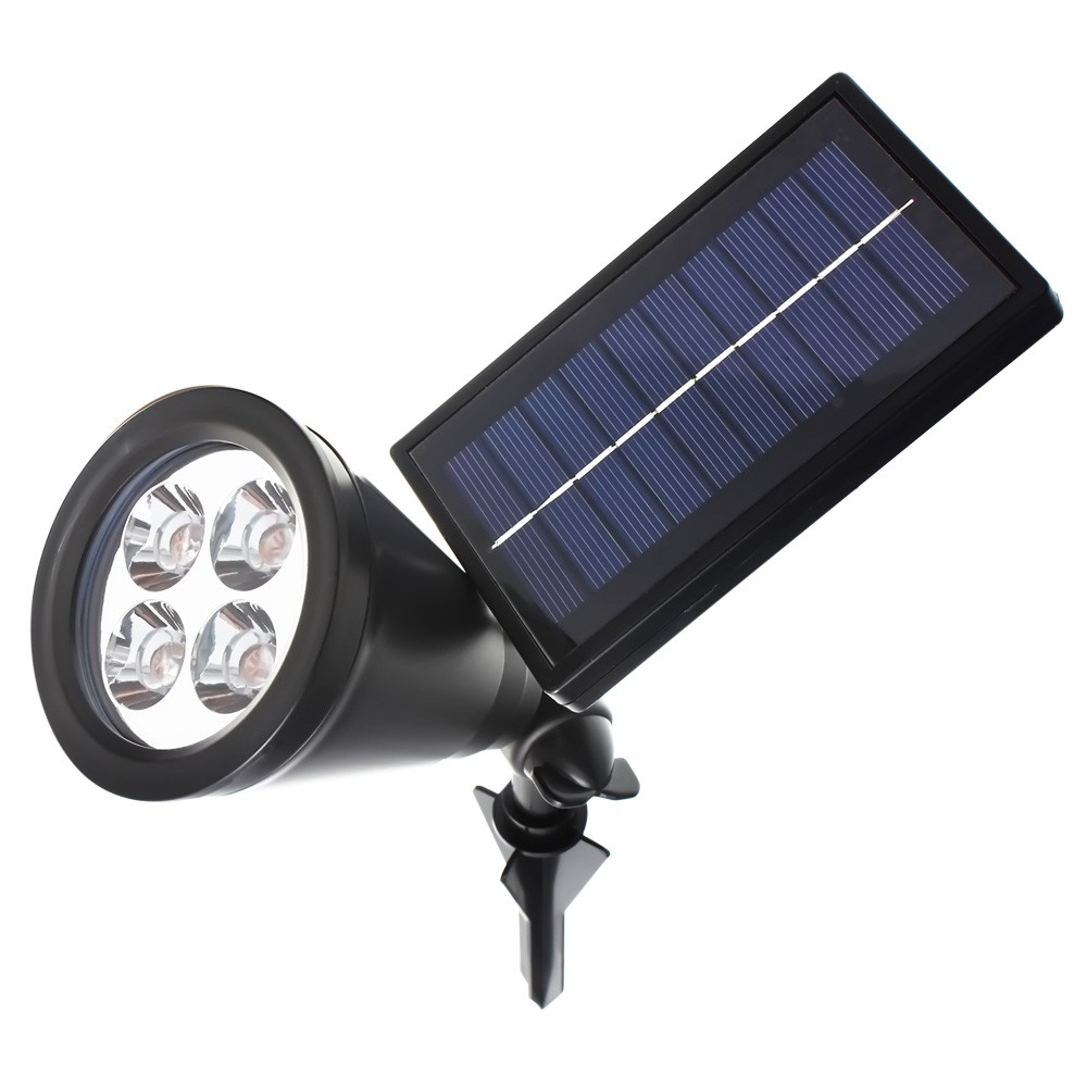 new arrival led solar outdoor solar power spotlight