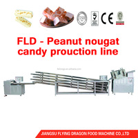 Automatic peanut candy bar making machine production line