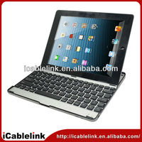 Promotion Silver 3.0 wireless bluetooth keyboard for ipad 2/3, laptop Mini Bluetooth Keyboard android for tablet