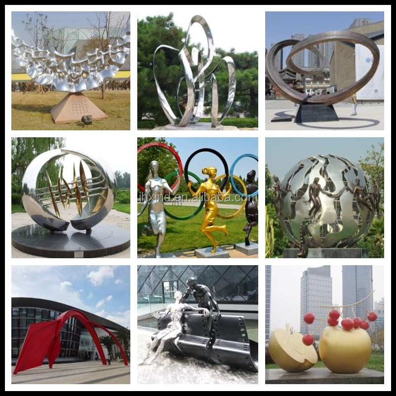 Professional Large Modern Abstract Steel Outdoor Sculpture