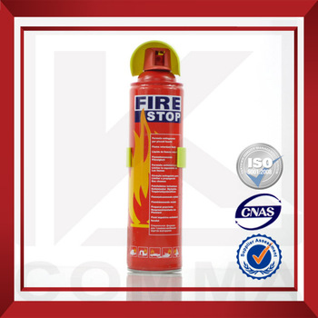 ISO9001&MSDS 500ml/1000ml Eco-friendly Foam Fire Extinguisher Price