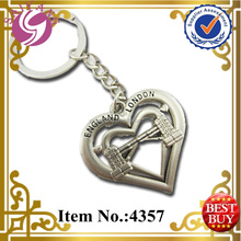 2014 New Metal Keychain London Tower Twin Bridges Souvenirs Promotion gift United Kingdom