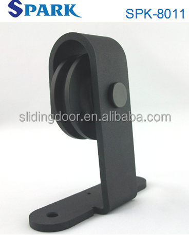 American Style Aluminium Fittings For Wood Sliding Barn Door