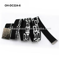 High quality polyester canvas belt for boys