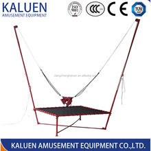 Single cord bungee trampoline for sale bungee jumping
