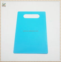 Eco-friendly Kitchen plastic PP chopping board blue cutting board pizza cutting board