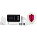 Professional home security wireless/wired Contact ID/SIA alarm system & Amazon Alexa GSM/3G WiFi GPRS SMS alarm system