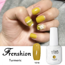 Frenshion Nail Gel Polish Soak Off Wholesale Gel Polish Turmeric Color UV/LED Gel