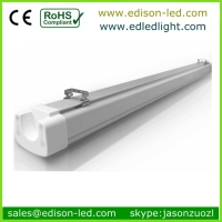 CE RoHS 1.2m 40w 50w ip65 waterproof fluorescent fitting