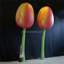 decoration artificial tulip flower, giant inflatable flower decoration