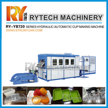 Hot Sale RY-YB720 Series Full Automatic Plastic Cup Thermoforming Machine