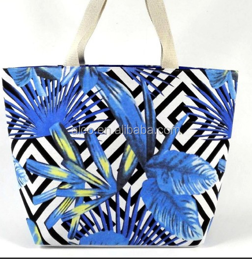 Hot sell fashoin colorful custom printed canvas tote bag