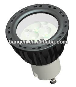 3*1W Dimmable LED Spotlight